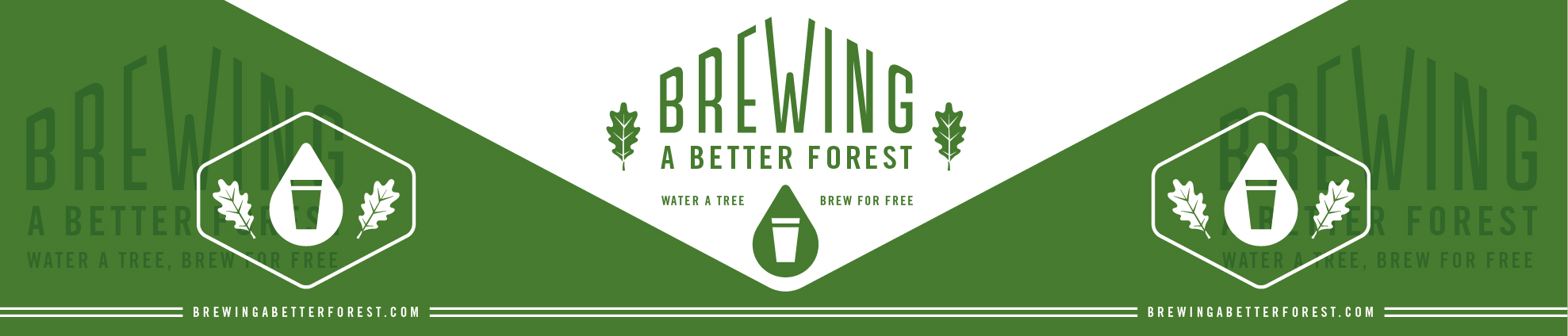 Brewing A Better Forest Logo